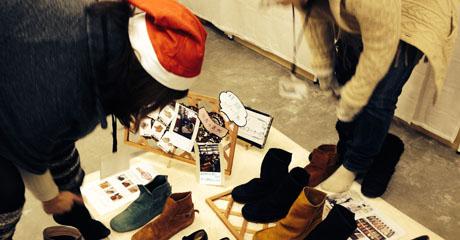 革靴メーカー様 商品展示会(2014)