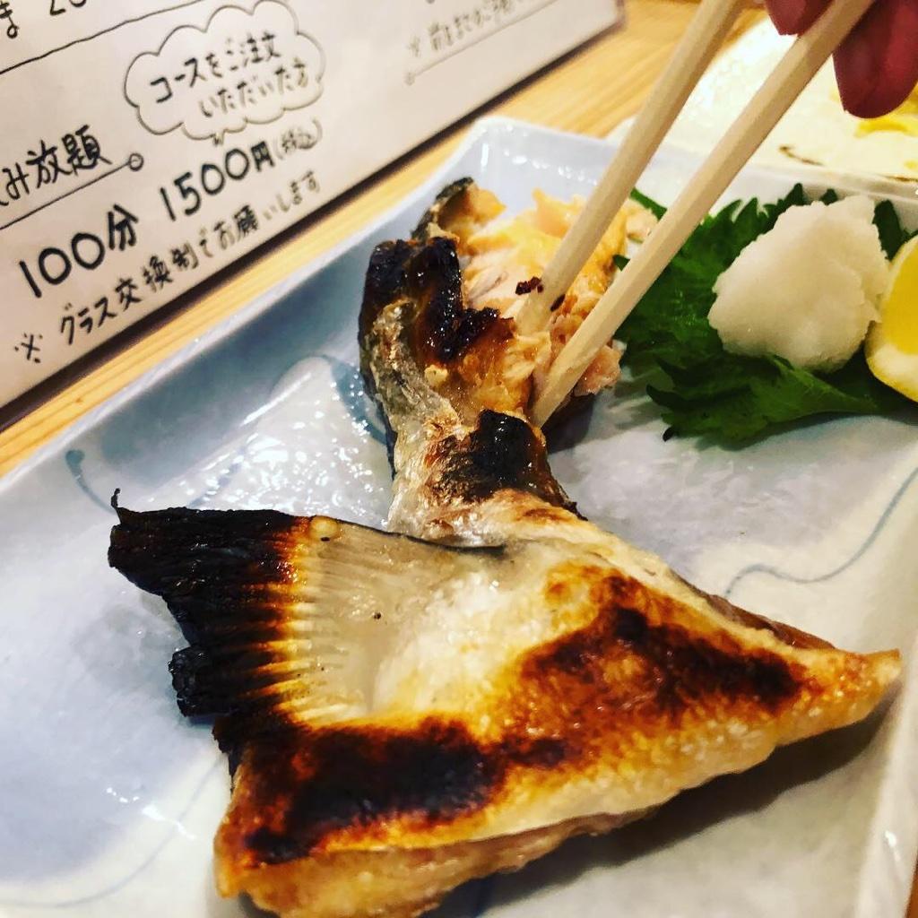 酒場とっちゃんのお魚料理